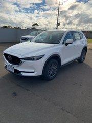 2021 Mazda CX-5 KF4WLA Touring SKYACTIV-Drive i-ACTIV AWD White 6 Speed Sports Automatic Wagon.