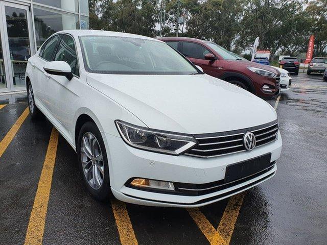 Used Volkswagen Passat 3C (B8) MY18 132TSI DSG Epsom, 2018 Volkswagen Passat 3C (B8) MY18 132TSI DSG White 7 Speed Sports Automatic Dual Clutch Sedan
