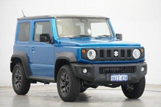 2021 Suzuki Jimny JB74 GLX Blue 5 Speed Manual Hardtop