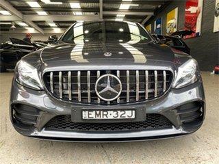 2020 Mercedes-Benz C-Class W205 C43 AMG Graphite Grey Sports Automatic Sedan.