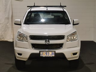 2014 Holden Colorado RG MY14 LX Space Cab Summit White 6 Speed Manual Cab Chassis.