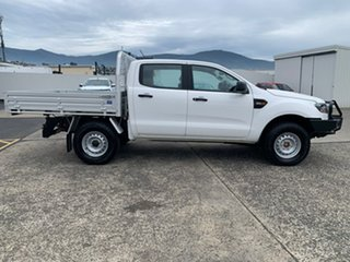 2019 Ford Ranger PX MkIII 2019.00MY XL White 6 Speed Sports Automatic Double Cab Chassis.