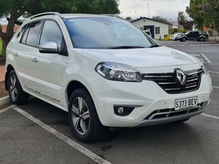 2014 Renault Koleos H45 Phase III Bose White 1 Speed Constant Variable Wagon.