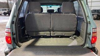 2001 Toyota Landcruiser FZJ105R 50th Anniversary GXL Turquoise 4 Speed Automatic Wagon