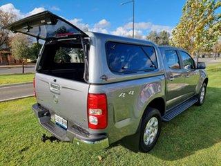 2015 Holden Colorado RG MY16 LTZ Crew Cab Silver 6 Speed Sports Automatic Utility.