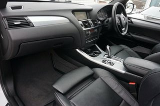 2013 BMW X3 F25 MY0413 xDrive30d Steptronic White 8 Speed Automatic Wagon
