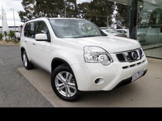 2013 Nissan X-Trail T31 Series 5 ST (FWD) White Continuous Variable Wagon.