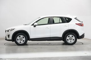 2013 Mazda CX-5 KE1031 MY14 Maxx SKYACTIV-Drive AWD White 6 Speed Sports Automatic Wagon.