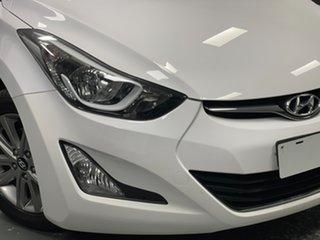 2013 Hyundai Elantra MD3 Trophy White 6 Speed Sports Automatic Sedan.