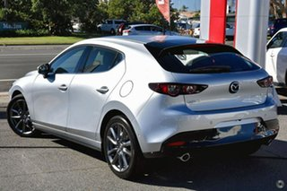 2021 Mazda 3 BP2H7A G20 SKYACTIV-Drive Touring Silver 6 Speed Sports Automatic Hatchback