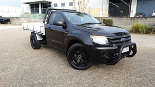 2015 Ford Ranger PX MkII XL 2.2 (4x2) Black 6 Speed Manual Cab Chassis.