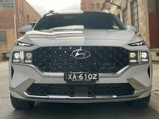 2021 Hyundai Santa Fe Tm.v3 MY21 Highlander DCT Glacier White 8 Speed Automatic Wagon
