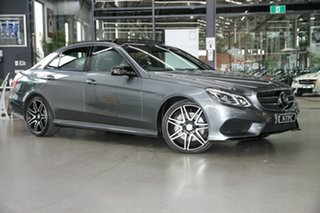 2015 Mercedes-Benz E-Class W212 806MY E400 7G-Tronic + Grey 7 Speed Sports Automatic Sedan.