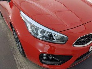 2013 Kia Pro_ceed JD MY14 GT Red 6 Speed Manual Hatchback.