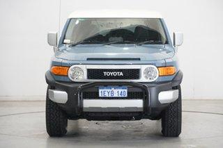 2015 Toyota FJ Cruiser GSJ15R MY14 Blue 5 Speed Automatic Wagon.