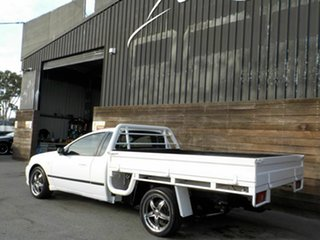 2006 Ford Falcon BF Mk II RTV Super Cab White 4 Speed Sports Automatic Cab Chassis