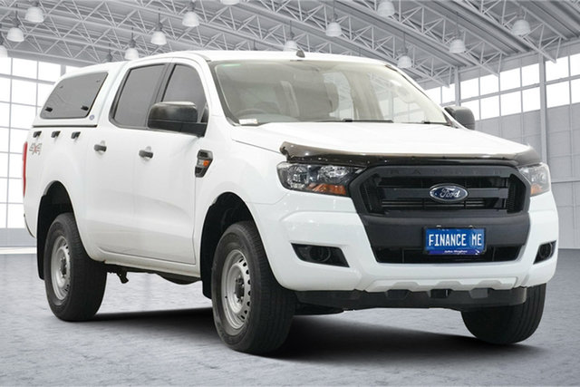Used Ford Ranger PX MkII 2018.00MY XL Victoria Park, 2018 Ford Ranger PX MkII 2018.00MY XL White 6 Speed Sports Automatic Utility