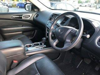 2013 Nissan Pathfinder TI Red Automatic Wagon.
