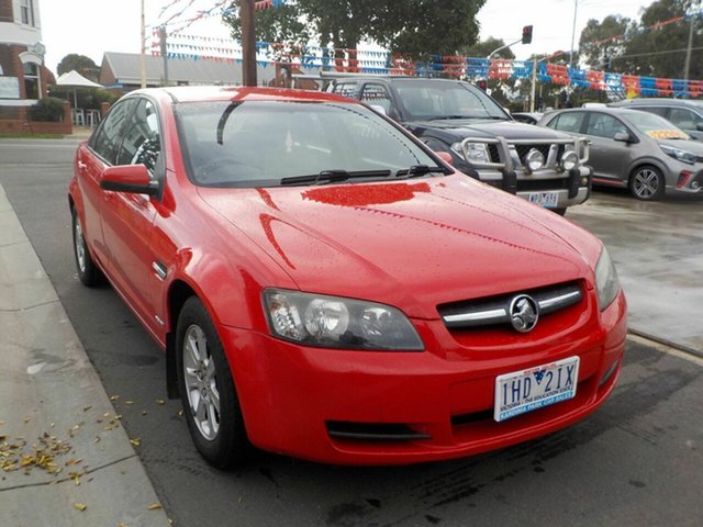 Used Holden Commodore VE MY09.5 Omega Newtown, 2009 Holden Commodore VE MY09.5 Omega Red 4 Speed Automatic Sedan