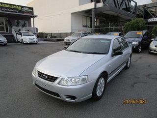 2008 Ford Falcon BF MkII 07 Upgrade Futura 4 Speed Auto Seq Sportshift Sedan.