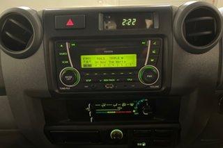 2016 Toyota Landcruiser VDJ79R GX French Vanilla 5 speed Manual Cab Chassis
