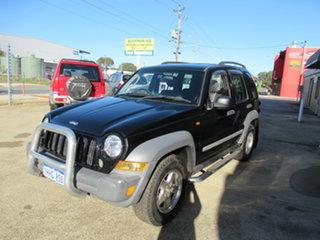2005 Jeep Cherokee CRD Black 5 Speed Automatic Wagon.