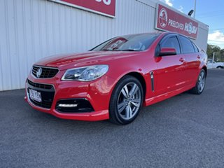 2014 Holden Commodore VF MY14 SV6 Red 6 Speed Sports Automatic Sedan