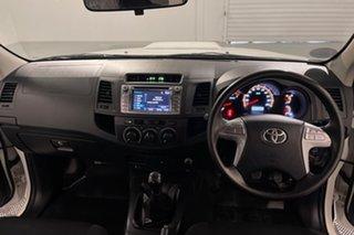 2014 Toyota Hilux KUN16R MY14 SR Double Cab 4x2 Glacier 5 speed Manual Utility