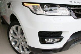 2016 Land Rover Range Rover Sport L494 16.5MY SE Fuji White 8 Speed Sports Automatic Wagon.