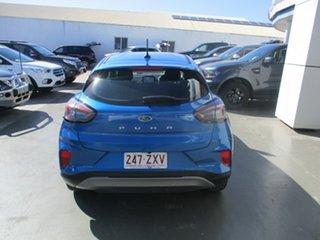 2020 Ford Puma MY20.75 Blue 7 Speed Auto Dual Clutch Hatchback.