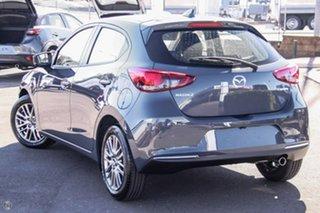 2021 Mazda 2 DJ2HAA G15 SKYACTIV-Drive Evolve Grey 6 Speed Sports Automatic Hatchback