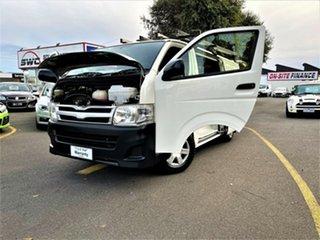 2013 Toyota HiAce KDH201R MY12 LWB White 4 Speed Automatic Van
