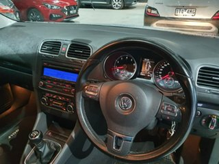2009 Volkswagen Golf VI 118TSI Comfortline Silver 6 Speed Manual Hatchback