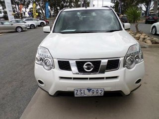 2013 Nissan X-Trail T31 Series 5 ST (FWD) White Continuous Variable Wagon