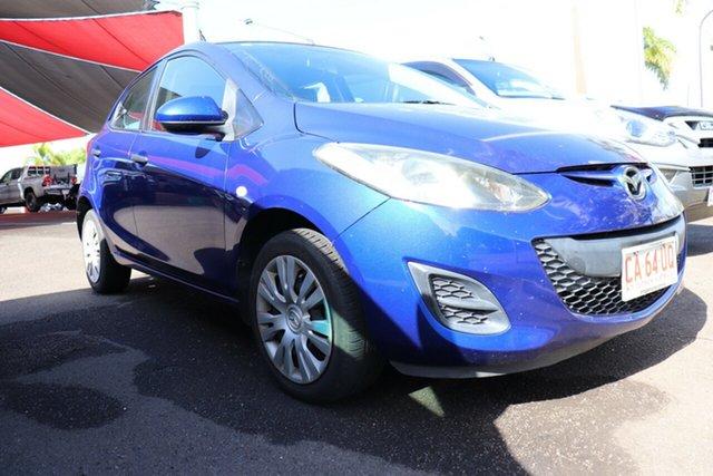 Pre-Owned Mazda 2 DE10Y1 MY10 Neo Palmerston, 2010 Mazda 2 DE10Y1 MY10 Neo Blue 5 Speed Manual Hatchback