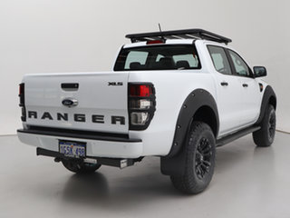 2018 Ford Ranger PX MkIII MY19 XLS 3.2 (4x4) White 6 Speed Manual Double Cab Pick Up