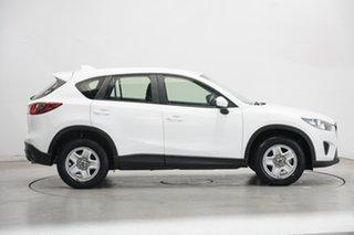 2013 Mazda CX-5 KE1031 MY14 Maxx SKYACTIV-Drive AWD White 6 Speed Sports Automatic Wagon