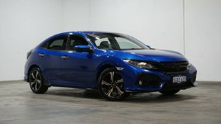 2018 Honda Civic 10th Gen MY18 RS Blue 1 Speed Constant Variable Hatchback.