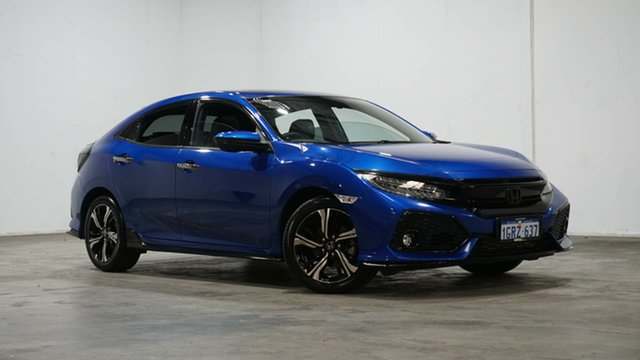 Used Honda Civic 10th Gen MY18 RS Welshpool, 2018 Honda Civic 10th Gen MY18 RS Blue 1 Speed Constant Variable Hatchback