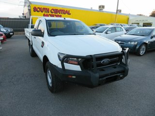 2017 Ford Ranger PX MkII MY17 Update XL 2.2 Hi-Rider (4x2) White 6 Speed Automatic Super Cab Chassis.