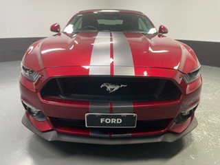 2016 Ford Mustang FM GT SelectShift Ruby Red 6 Speed Sports Automatic Convertible.