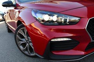 2021 Hyundai i30 PD.V4 MY21 N Line D-CT Premium Fiery Red 7 Speed Sports Automatic Dual Clutch.