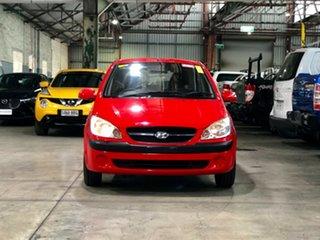 2009 Hyundai Getz TB MY09 S Red 5 Speed Manual Hatchback.