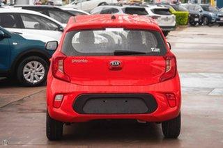 2021 Kia Picanto JA MY21 S Red 4 Speed Automatic Hatchback.