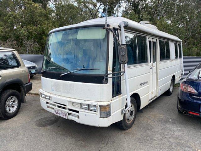 Used Nissan Civilian Morayfield, 1990 Nissan Civilian W40 White Campervan