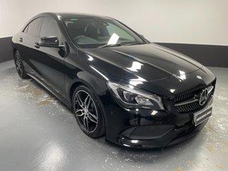 2016 Mercedes-Benz CLA-Class C117 807MY CLA200 DCT Cosmos Black 7 Speed Sports Automatic Dual Clutch.