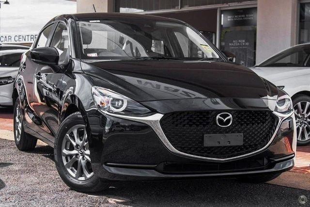 New Mazda 2 DJ2HAA G15 SKYACTIV-Drive Pure Waitara, 2021 Mazda 2 DJ2HAA G15 SKYACTIV-Drive Pure Black 6 Speed Sports Automatic Hatchback