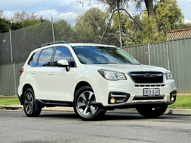 Used Subaru Forester S4 MY16 2.5i-L CVT AWD Hyde Park, 2016 Subaru Forester S4 MY16 2.5i-L CVT AWD Pearl White 6 Speed Constant Variable Wagon