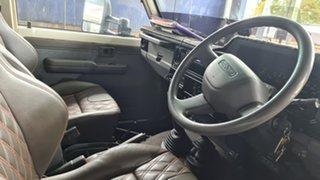 2009 Toyota Landcruiser VDJ79R GXL (4x4) White 5 Speed Manual Cab Chassis