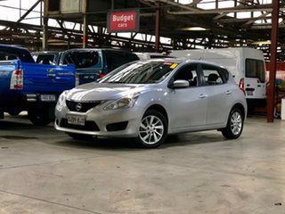 2014 Nissan Pulsar C12 ST Silver 1 Speed Constant Variable Hatchback.